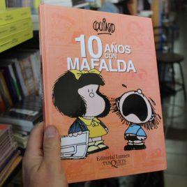 10 años con Mafalda … Quino … pasta dura