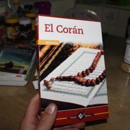 El Coran – Mahoma … edicion edesa … 457 páginas … portada arte puede variar