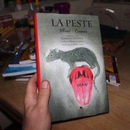 la peste … albert camus … pasta dura … 269 páginas … ilustrado