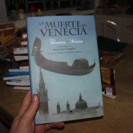 la muerte en venecia … thomas mann … pasta dura … 126 páginas … ilustrado