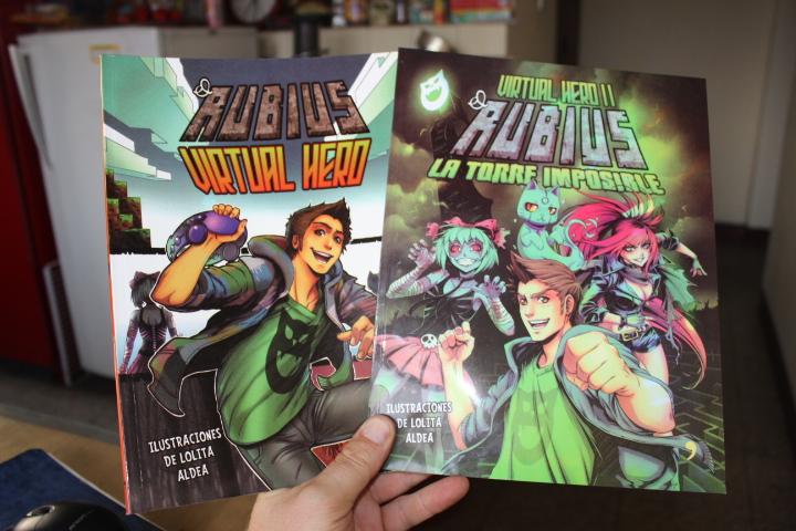Dónde Comprar Los Libros De El Rubius: Oferta … Virtual Hero I Y Virtual Hero II … Rubius
