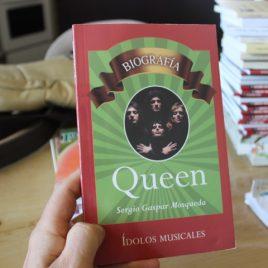 Queen … sergio gaspar mosqueda … serie ídolos musicales … 95 páginas