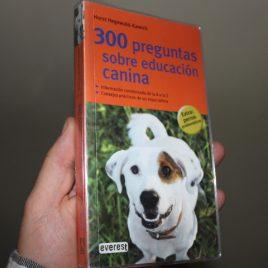 300 preguntas sobre educación canina … horst hegewald-kawich … 256 páginas … everest