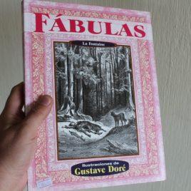 fábulas … la fontaine … ilustraciones de gustave doré … 223 páginas … editorial grupo tomo