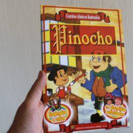 pinocho … cuentos clásicos ilustrados … 16 páginas … emu