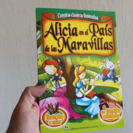 alicia en el país de las maravillas … cuentos clásicos ilustrados … 16 páginas … emu