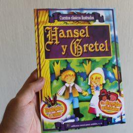hansel y gretel … cuentos clásicos ilustrados … 16 páginas … emu