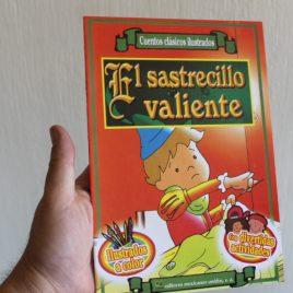 el sastrecillo valiente … cuentos clásicos ilustrados … 16 páginas … emu