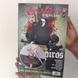 gótica especial … número 22 con cd