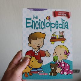 mi enciclopedia … aprendo con stickers … 12 páginas