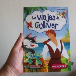 los viajes de gulliver … stickerclásicos … con stickers … 12 páginas