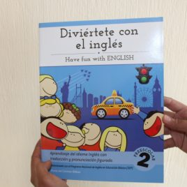 diviertete con el ingles … have fun with english … preescolar 2 … maria del carmen bilbao … 64 paginas