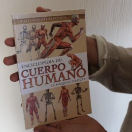 enciclopedia del cuerpo humano … la máquina perfecta … jatziri … 96 páginas
