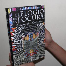 el elogio de la locura … erasmo de rotterdam … ilustrado por pedro friedeberg … pasta dura … 165 páginas … edición mirlo