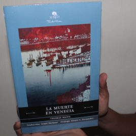 la muerte en venecia … thomas mann … edición mirlo … 93 páginas