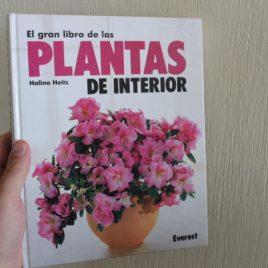 el gran libro de las plantas de interior … pasta dura … halina heitz … 237 paginas