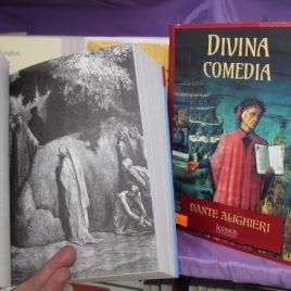 divina comedia … dante alighieri … íconos literarios … 806 páginas … ilustrado … pasta suave