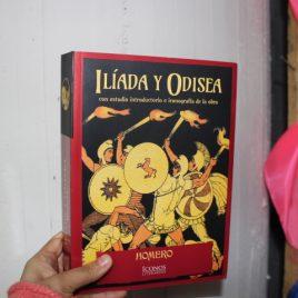 íliada y odisea … homero … iconos literarios … 671 paginas