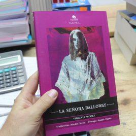 la señora dalloway … virginia woolf … 186 páginas … mirlo pasta suave tinta viva … traduccion marina mena … prólogo rosina conde