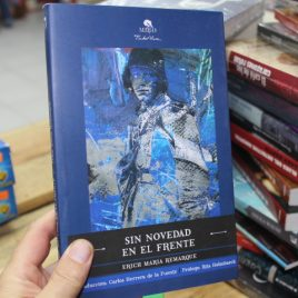 sin novedad en el frente … erich maria remarque … 206 páginas … mirlo tinta viva pasta suave