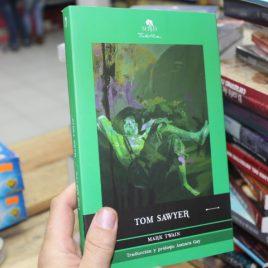 tom sawyer … mark twain … traduccion y prólogo asmara gay … 259 páginas … mirlo tinta viva pasta suave