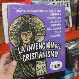 la invención del cristianismo … rius … planeta … 119 páginas
