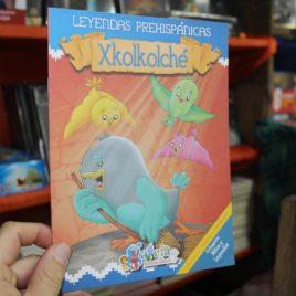leyendas prehispanicas … xkolkolché … 15 páginas
