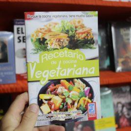recetario de cocina vegetariana … jatziri … 64 páginas
