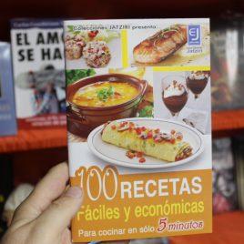 100 recetas fáciles y económicas … para cocinar en solo 5 minutos … 64 páginas … jatziri