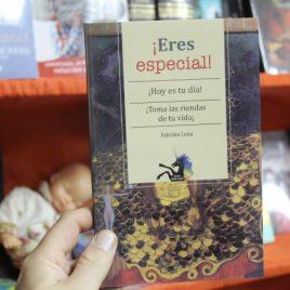 eres especial … hoy es tu dia … toma las riendas de tu vida … fabrizio luna … coleccion unicornio … emu … 95 páginas