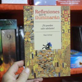 reflexiones que te iluminarán … tú puedes salir adelante … diego quiroga … coleccion unicornio … emu … 95 páginas
