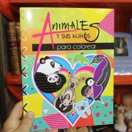 animales y sus hijitos para colorear … emu … 32 páginas