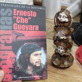 biografias ernesto che guevara … portad pintado roja negra … emu 95 páginas