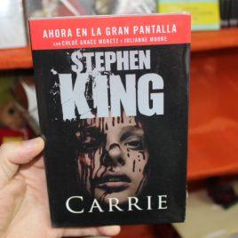 carrie … stephen king … portada pelicula