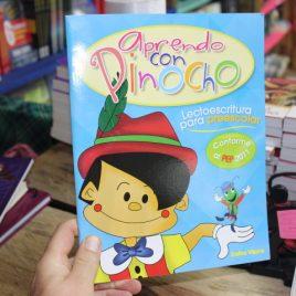 aprendo con pinocho … lectoescritura para preescolar … emu 63 páginas … dafne vieyra