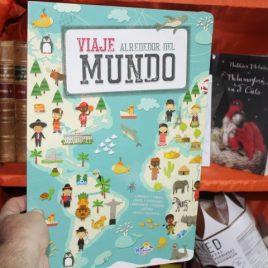 viaje alrededor del mundo … winbooks kids … libro de cartón, páginas gruesas de cartón … 12 páginas