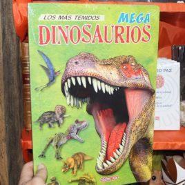 lo mas temidos mega dinosaurios … winbook kids … libro de cartón, páginas de cartón … 12 páginas