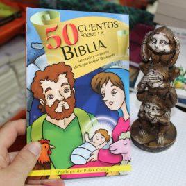 50 cuentos sobre la biblia … 95 páginas … emu