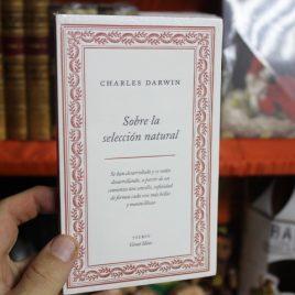 sobre la seleccion natural … charles darwin … 157 páginas … taurus great ideas