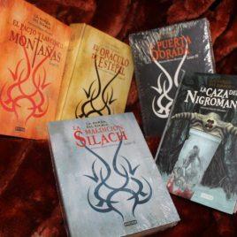 serie la horda del diablo … antonio martin morales … 5 libros en pasta dura … compra los 5 libros a la vez por Q500