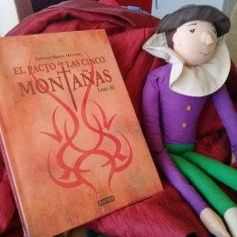 el pacto de las cinco montañas … libro III de la horda del diablo … antonio martin morales … pasta dura