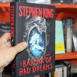 the bazaar of bad dreams, stories … en ingles … stephen king … pasta dura