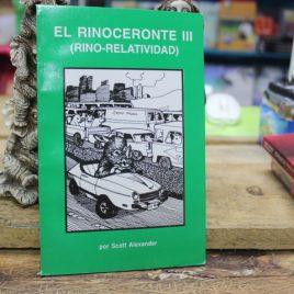 el rinoceronte III … scott alexander … 125 paginas