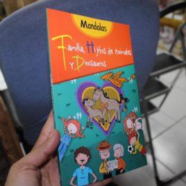 mandalas familia, hijitos de animales y dinosaurios … edición pequeña … 95 páginas … editorial Emu