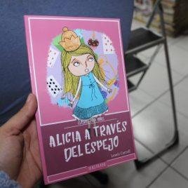 alicia a través del espejo … lewis carroll … clasicos para niños … 95 páginas