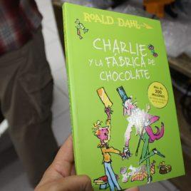 charlie y la fabrica de chocolate … pasta suave … roald dahl