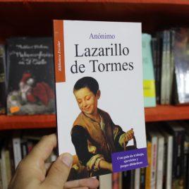 lazarillo de tormes … anónimo … biblioteca escolar … 95 páginas … emu