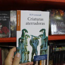 criaturas aterradoras … h.p. lovecraft … biblioteca escolar … 95 páginas … emu