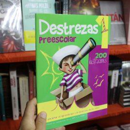 destrezas preescolar 1 … 200 ilustraciones … 64 páginas