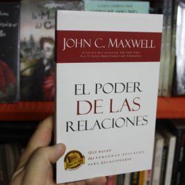 el poder de las relaciones … john c. maxwell … 273 páginas
